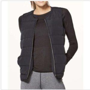 Lululemon Just Enough Puff Vest Black Glyde